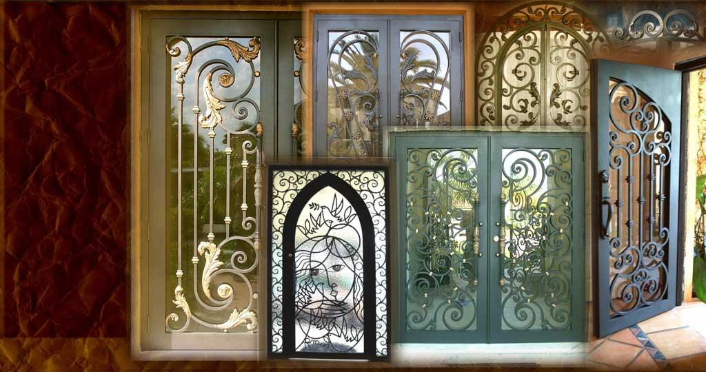 Carlos Angelini Metal Works | Iron Frontdoors | Miami Florida